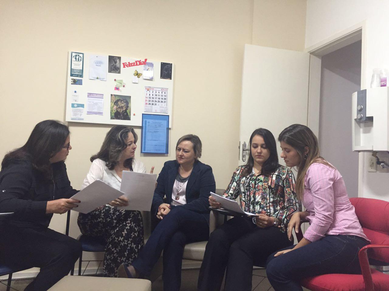 Diretoria administrativa em reunião no Rio de Janeiro (23/08/2016)