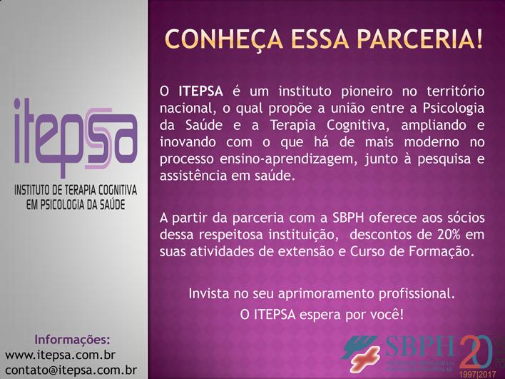 Divulgação Parceria Itepsa com SBPH