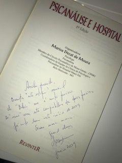 Marisa autografo 1 livro Analu